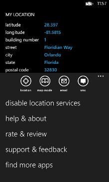 My Location Screenshot 3